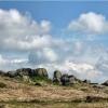 Cow and calf rocks at Ilkley Moor