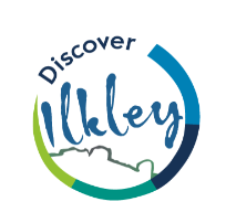 Image of the Discover Ilkley logo.