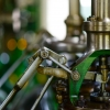 Close up of factory machinery